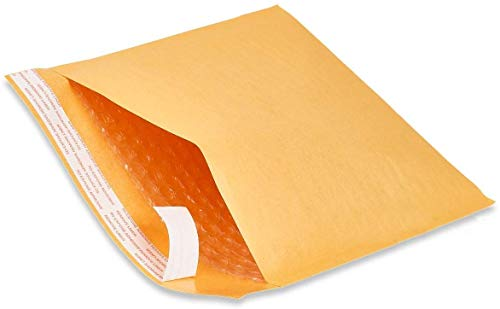 """Naturelife #0 Size Kraft Bubble Mailers Padded Self Seal Bubble Envelopes for Shipping Packaging (#0-250 Envelopes Per Box - 6"""" x 10"""")"""