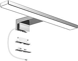 Aourow LED Spiegellampe Badezimmer Spiegelleuchte,IP44 Badleuchte,Spiegellampen Spiegel Badezimmerschrank 230V,LED...