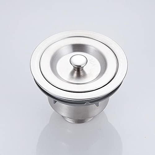YPASDJH 1 unids Cocina Filtro Filtro Canasta Drenaje Baño Acero Inoxidable Bajo Monte para Lavar Platos Accesorios de Tubería de Agua para lavavajillas, Lavadora (Color : Strainer)