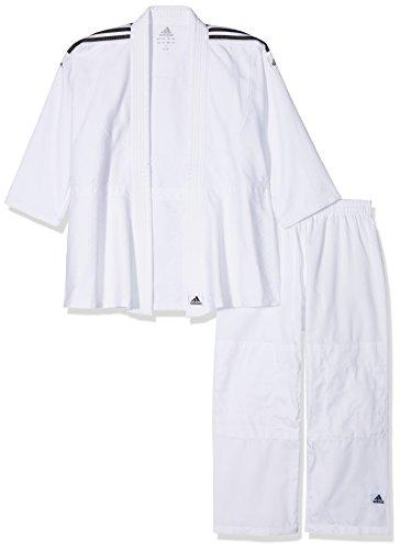 adidas - J350 - Kimono de judo - Mixte - Blanc brillant - Ta