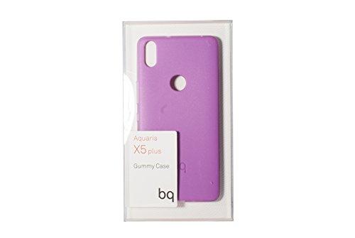Ksix BQ BXBQ695 - Funda para Aquaris X5 Plus, Color púrpura