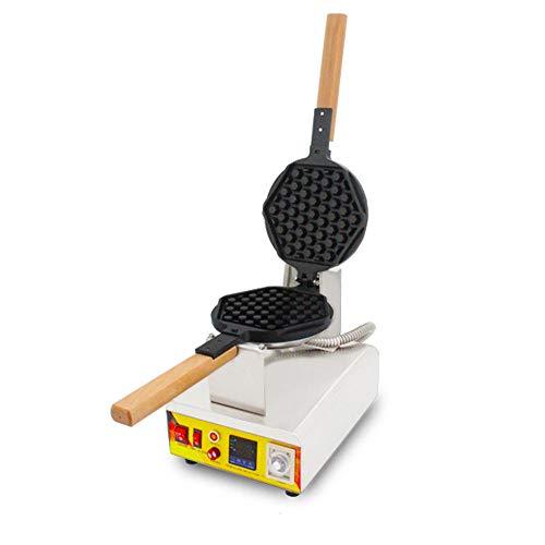 1000W Belga Waffle Maker Huevo Profesional Máquina De Burbuja Rotada Nón, Waffle Maker Flip, Temperatura Y Control De Tiempo Para Waffles, O Cualquier Desayuno, Almuerzo Y Bocadillos