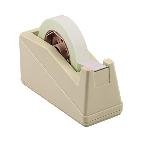 Lichamp Desktop Tape Dispenser Holder with Large 3 inches Core for Masking Tape, Heat Transfer Tape Sublimation, Painters Tape, Freezer Tape and Kitchen Tape