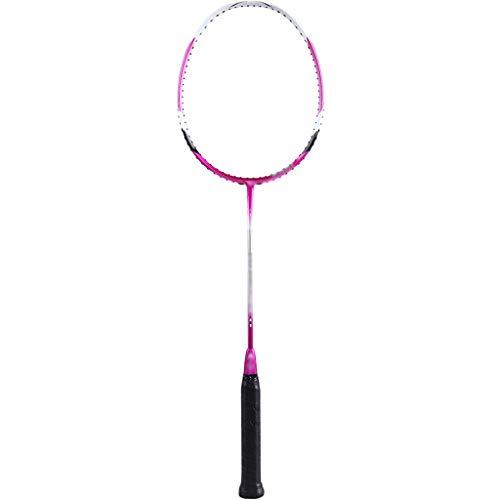 DXIUMZHP Raquetas Raqueta De Bádminton De Velocidad De Nivel De Entrenamiento, Raqueta Totalmente De Carbono Resistente Al Desgaste con Bolsa, 28 Libras (Color : Pink, Size : 37.5cm/3U)