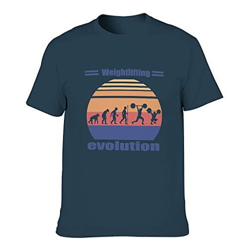 Camisetas de algodón para levantamiento de pesas, para hombre, divertido Hobby