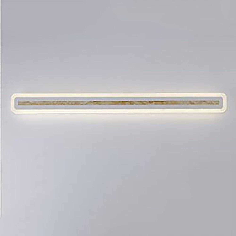 LJHA jingqiandeng LED Moderne Wasserdichte Spiegel Frontleuchte Moderne Badezimmer Schlafzimmer Wandleuchte Schminktisch Spiegel Frontleuchte Bad Wandleuchten (Farbe   B-warm light-40cm-8W)