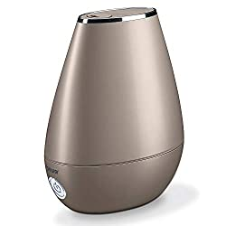 Humidifier with ultrasonic steam technology, micro-fine ultrasonic vaporization (quiet) BEURER LB37TOFFEE HUMIDIFIER LB37TOFFEE For rooms and stays up to /-20 m² Detachable 2 litre water tank with optional water filter and automatic shut-off when the...