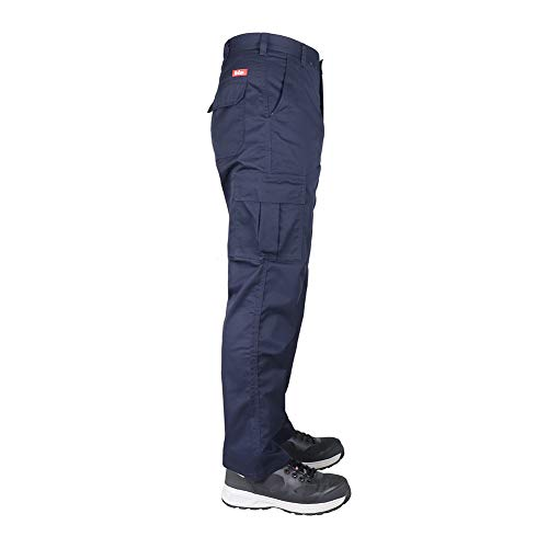 Lee Cooper Workwear Cargo Pant, 40R, marine, LCPNT205 - 9