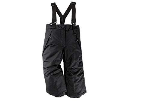 lupilu meisjes skibroek sneeuwbroek kinderen snowboardbroek winterbroek sport vrije tijd broek zwart 86/92