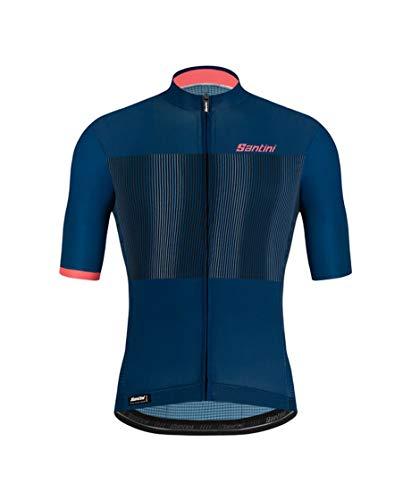 Santini Herren Fahrradbekleidung Mito Grido, Blau, XXL