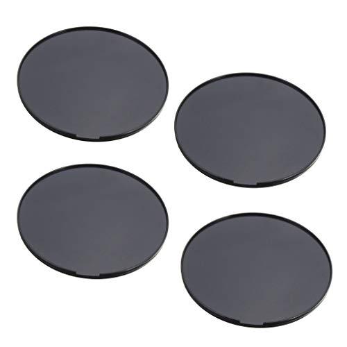 perfk 4 Stück Befestigungsscheibe/Klebe Adapter für das Armaturenbrett für KFZ Halterungen Selbstklebende Adapterplatte