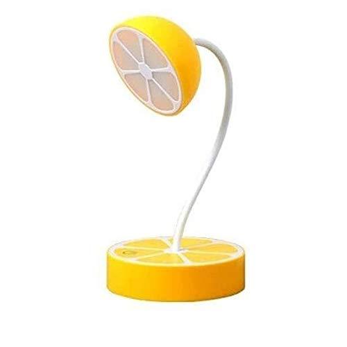 Wotbxchbbtde Lámpara de intensidad regulable Oficina con puerto de carga USB, recargable, Ojo-cuidado lámparas de mesa, control de sensores táctiles, cuello de cisne y flexible, creativo LED lámpara d