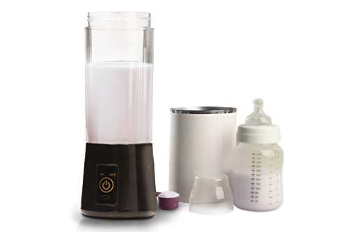 Portable Cordless Baby Formula Maker | Mixes Babyâ€s Formula and Water with No Clumps