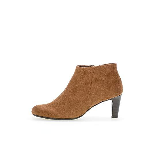 Gabor Damen Elegante Stiefeletten, Frauen Stiefeletten,Ankle Boots, Stiefel halbstiefel Bootie knöchelhoch reißverschluss,New Whisky,39 EU / 6 UK