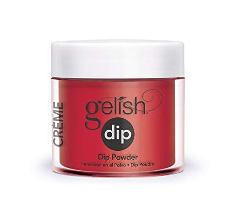 Gelish Hot Rod Red Dip Powder
