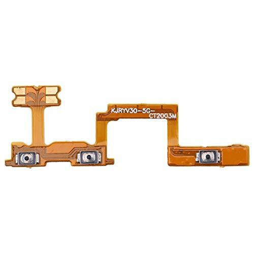 CathyHan Botón de Encendido y botón de Volumen Cable Flexible for Huawei Honor V30