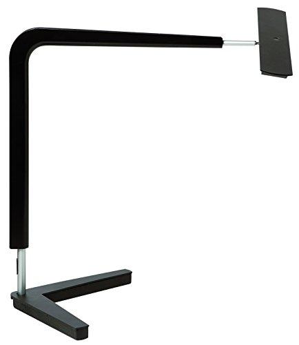 Preisvergleich Produktbild UNILUX 100340991 Ergolight Arbeitsplatzleuchte speziell für PC-Arbeitsplätze stufenlos dimmbar mit Timer- und Speicherfunktion Tischleuchte in schwarz
