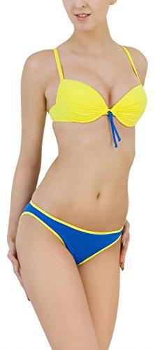 LORIN Bügel Bikini Set Lena 5412 (Muster-v2, Cup 85 C/Unterteil 42)