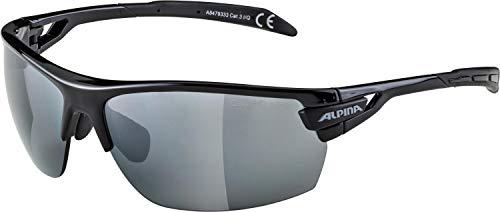 ALPINA TRI-SCRAY Sportbrille, Unisex– Erwachsene, black, one size
