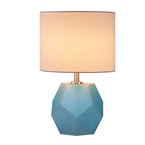 WZHZJ Elegante y Moderna lámpara de Mesa de Noche Simple Dormitorio Principal lámpara de Mesa lámpara de cabecera