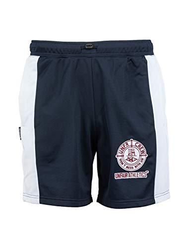 Unfair Athletics DMWU Nizza Short Herren dunkelblau/weiß, S