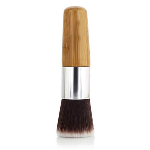 service Max 88% OFF Academyus Foundation Makeup Brush Round Handle Top Bamboo Flat P