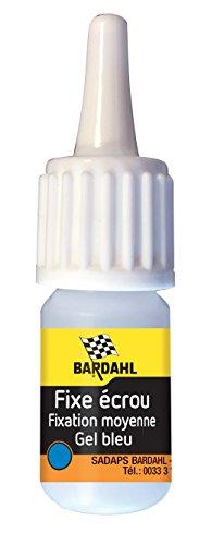 Bardahl 49907 FIX'ECROU MOYEN BLEU (remplace la 5000)