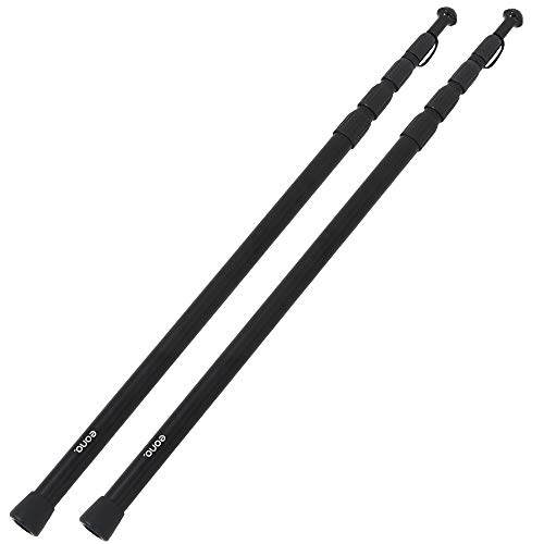 [AmazonブランドEono(イオーノ)テント・タープ用アルミポール 86cm~250cm無断階微調整 スライド式 伸縮式 キャンプ用品