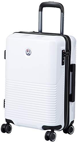 [フィラ] スーツケース 超軽量双輪 FILAサークルロゴエンブレム 機内持ち込み最大サイズ TSAロック 機内持ち込み可 37L 2.8kg ホワイト