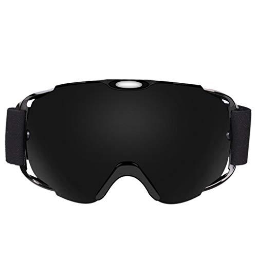 Skibril, anti-condens-coating, groot, sfeervolle skibril, bergbeklimmen, skibril. D