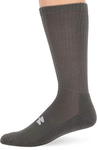 (52% OFF) Under Armour Heatgear Boot Socks Size 4-9 Foliage Green $4.85 Deal