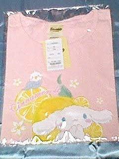 シナモロール レディース 半袖 Tシャツ ピンク サイズM サンリオ