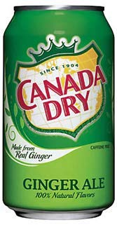 Canada Dry Ginger Ale - US Import! (36 Dosen x 355ml)