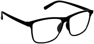 ARZONAI Besties Square Black-Transparent UV Protection Sunglasses | Frame For Men & Women MA-318-S1 (Large) Lens Width - 56mm