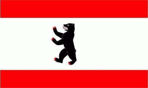 Fahne / Flagge Berlin NEU 90 x 150 cm Flaggen