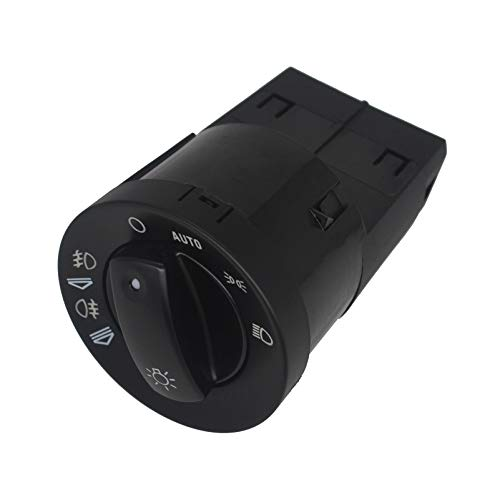 KASturbo Interruptor de control de la lámpara antiniebla del faro 8E0941531D, botón de función Interruptor de la lámpara de luz automática para Audi A4 Cabriolet B6 B7
