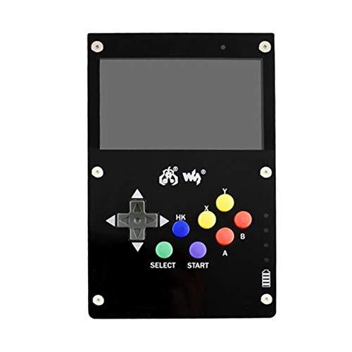 Ctzrzyt GamePi43 für RetroPie Game Console für Raspberry Pi 3 B 800X480 4,3 Zoll IPS-Bildschirm EU-Stecker