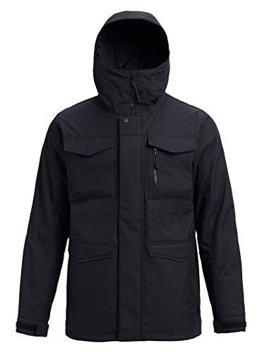 Burton Mens Covert Jacket, True Black 1, XX-Small
