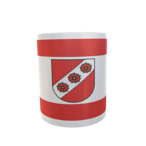 U24 Tasse Kaffeebecher Mug Cup Flagge Rosendahl