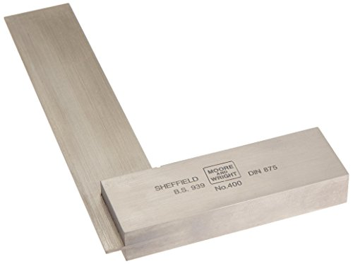 100mm/4 inch Engineers Square- Moore and Wright