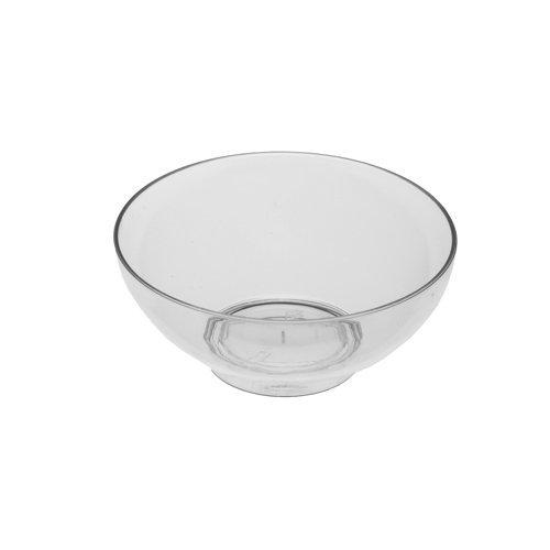 Papstar Fingerfood Schalen / Plastikschale rund (50 Stück) Ø 7.2 x 3 cm, glasklar, ca. 65 ml, stabil und formschön, für Snacks und Fingerfood, #11206