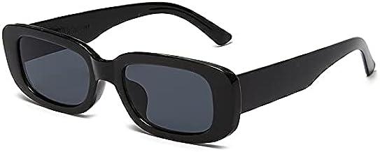 QiKun-Home Europese en Amerikaanse stijl vierkante zonnebril reizen rechthoek kleine vintage retro high definition zonnebr...
