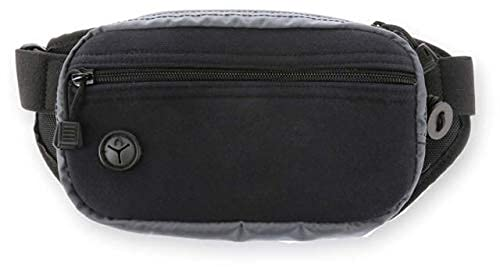 Galco Fastrax Pac Waistpack, Subcompact, Gray/Black, FTPGBS