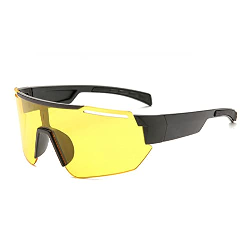 gafas de sol ciclismo bicicleta mtb para la noche montar a caballo hombres mujeres deportes al aire libre correr anti-reflejo a prueba de viento gafas de seguridad (A10)