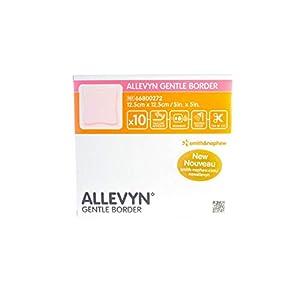 Apósito Allevyn oval con bordes suaves, 8,6 x 7,7 cm: Amazon ...