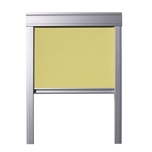 ITZALA Verdunkelungsrollo für VELUX Dachfenster, S08, SK08, 608, 10, Schwarz