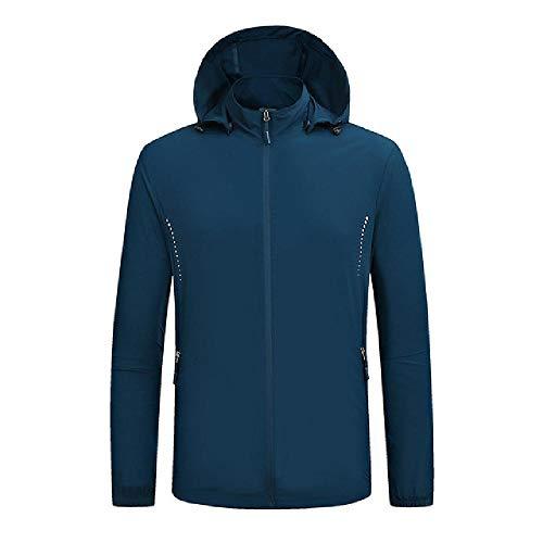 Al aire libre de los Hombres Cortavientos a prueba de viento ultra ligero a prueba de lluvia impermeable de la chaqueta de bicicleta más
