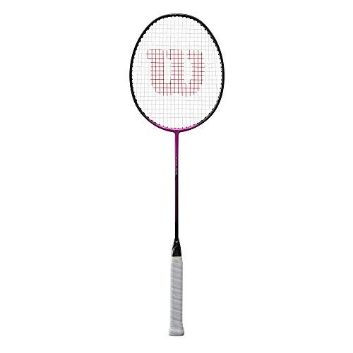 Wilson Badminton-Schläger, Fierce 370, Unisex, Griffstärke: 4, Weiß/Blau, Neutral, WR004610F4