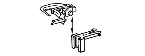 Universalkupplung 12er Pack höhenverstellbar ROCO 40396
