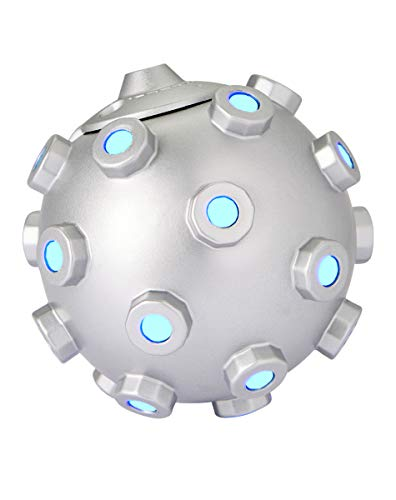 Fortnite Impulse Grenade with Lights and Sounds   Officially Licensed Silver